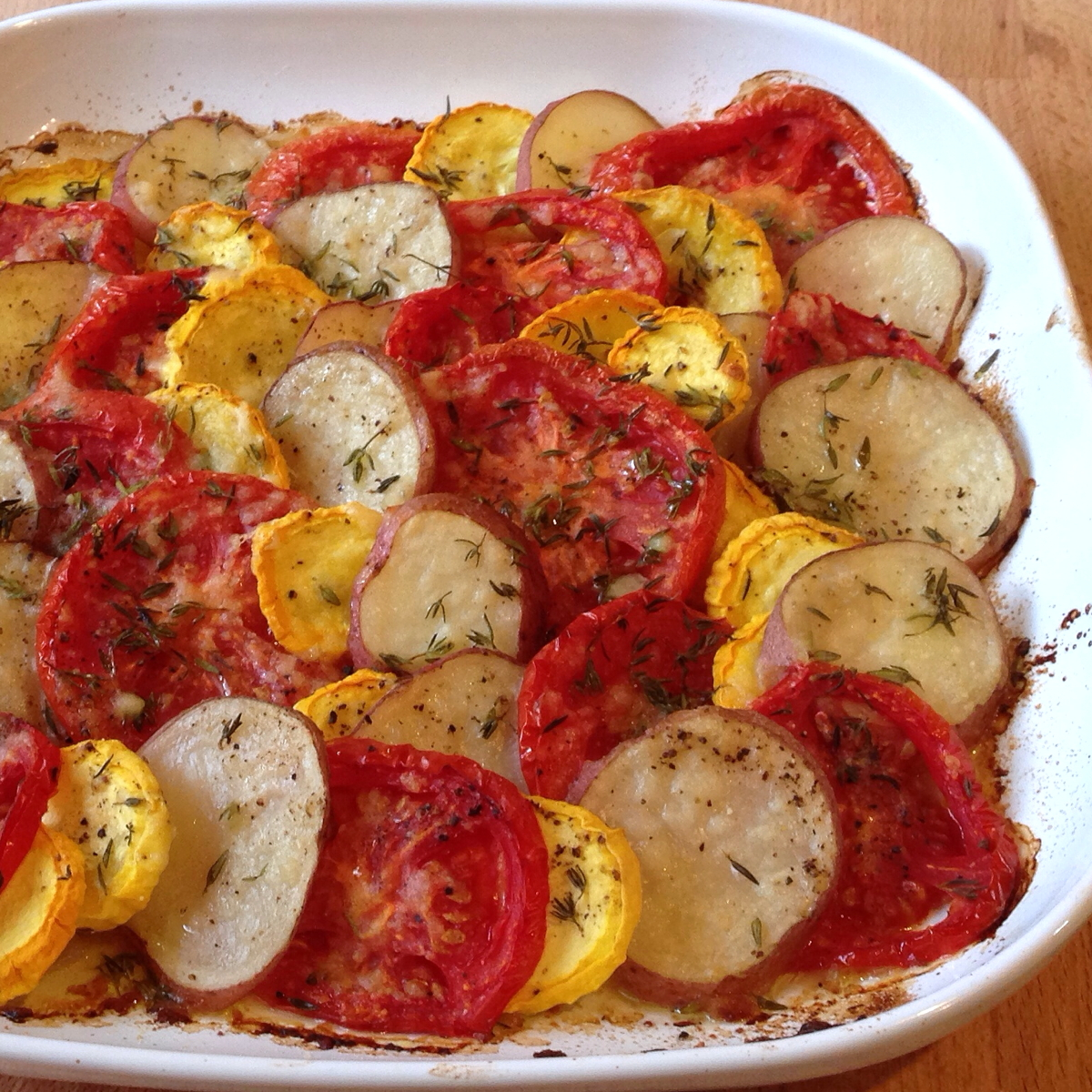Potato Tomato Squash Tian 1200